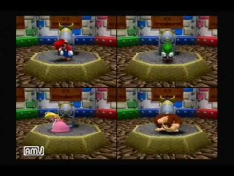 【Mario Party 4】MISS and DRAW movies