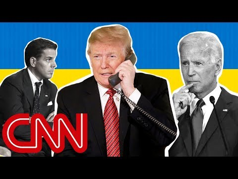 What in the world is going on with Biden, Trump and Ukraine?