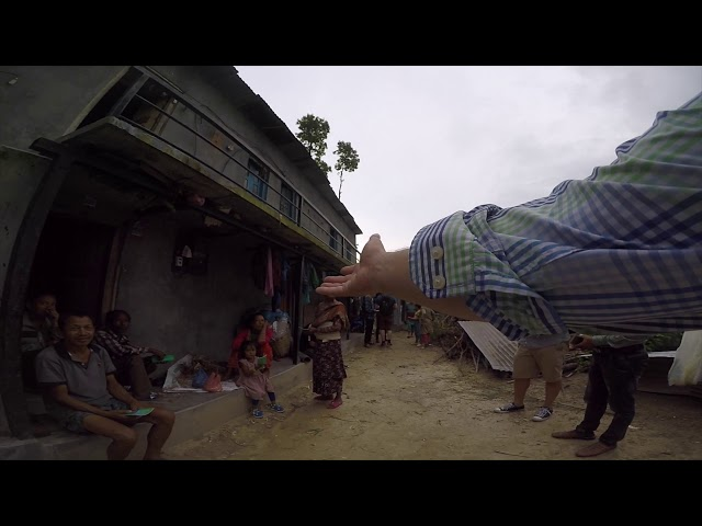 Epic drone video of Himalayan foothills and Gospel preaching