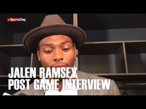 Jalen Ramsey post game interview after huge loss to Dallas Cowboys