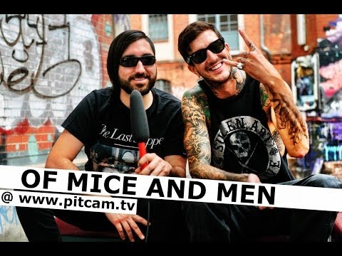 OF MICE AND MEN interview with Austin Carlile & Valentino Arteaga | www.pitcam.tv