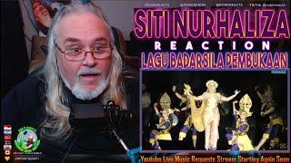 Siti Nurhaliza Reaction - Lagu BADARSILA Pembukaan Konsert - First Time Hearing - Requested