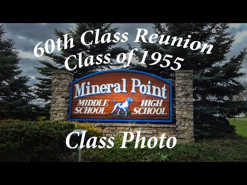 Mineral Point High School Class of 1955 Photo