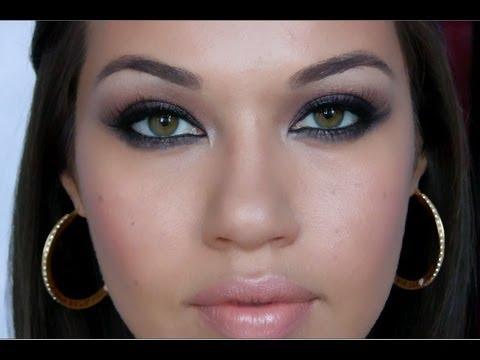 Mila Kunis Inspired Smokey Eye Makeup Tutorial