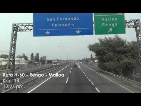 Chile de Un Viaje : De Santiago a Linares