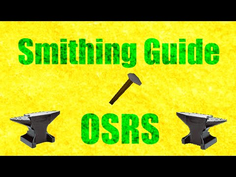 Profitable Smithing Guide ( 1-99 Possible!) Oldschool Runescape 2007 (OSRS)