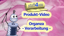 Organza-Verarbeitung | stoff4you | Produkt-Video