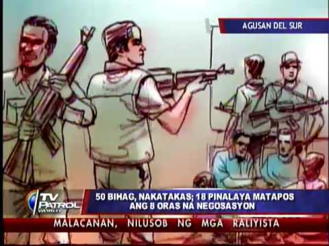 Gunmen still holding 57 hostages in Agusan del Sur