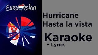 Hurricane - Hasta la vista (Karaoke) Serbia 🇷🇸 Eurovision 2020