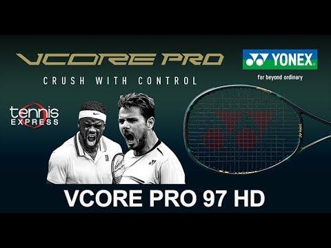 Yonex VCORE Pro 97 HD Tennis Racquet Review | Tennis Express