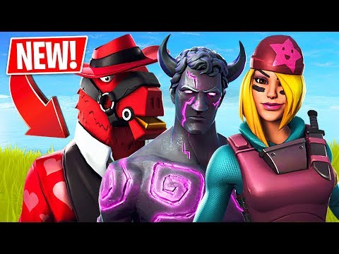 Valentine's Day Update! Free Season 8 Battle Pass & New Skins! (Fortnite Battle Royale Gameplay)
