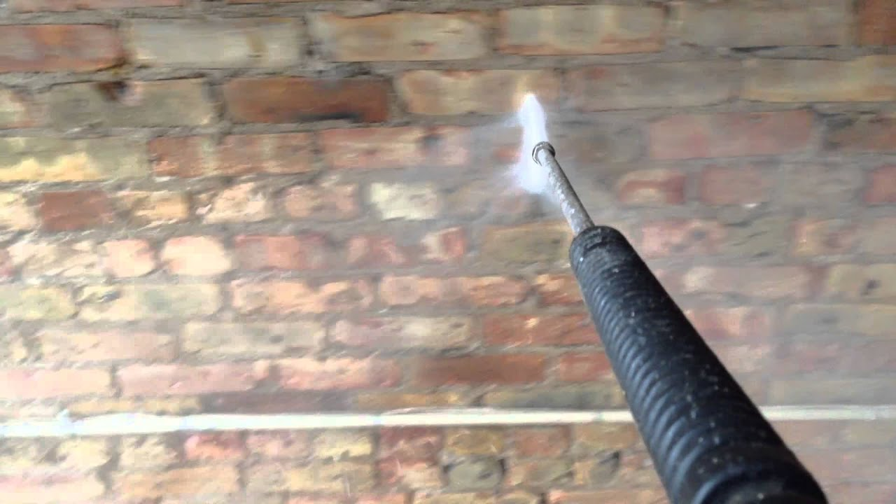 inside brick wall cleaning chicago youtube