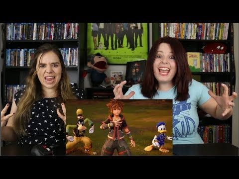 Kingdom Hearts III – E3 2018 Frozen Trailer Reaction / Review