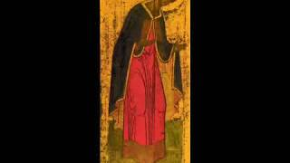 In memory of St. Andrey Rublev († 1428)