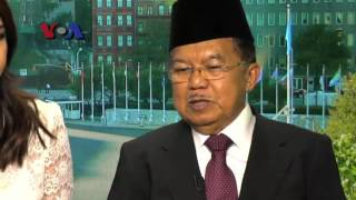 Wawancara VOA dengan Wapres Jusuf Kalla tentang Upaya PBB Kurangi Antibiotik