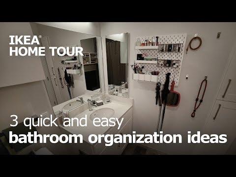 3-easy-ways-to-organize-your-bathroom---ikea-home-tour