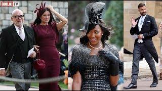 Los fabulosos invitados que asistieron a la boda de Eugenia de York | ¡HOLA! TV