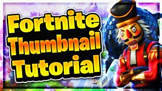 How To Make Fortnite Thumbnails On Photoshop Touch!!!