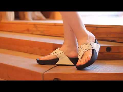 0cc33505e FitFlop - Flora in Urban White - YouTube