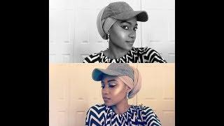 how-to-wrap-turban-with-hat-hijab-tutorial---badman-binladin-wavy-level
