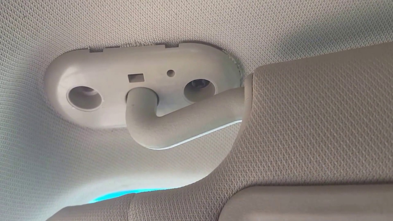 How to replace the sun visor on lincoln mkz zephyr fusion and Milan 738a3dd4a74