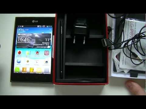 LG Optimus Vu (P895) - déballage   par Top-For-Phone.fr