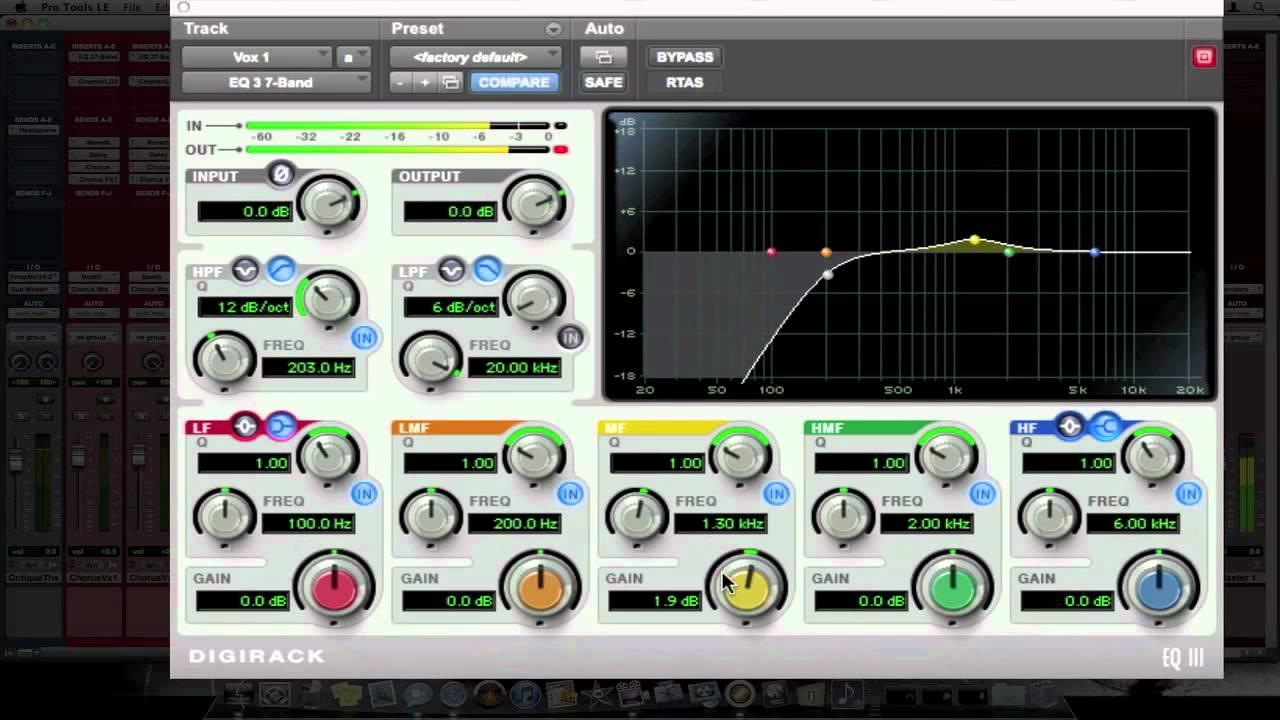Pro Tools Tips  U0026 Tricks   Lead Vocal Eq