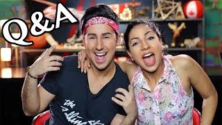 Dan and Riya Q&A - On The Amazing Race? Do we love each other? How we met!