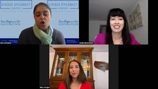ISD Diverse Diplomacy Leaders series with Annika Betancourt and Mary Vargas