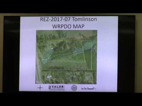 4. REZ-2017-07 Tomlinson U.S. Highway 41 South, Rezone 6.04 acres from E-A to R-A