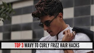 HAIR HACKS FOR FRIZZY HAIR | HOW TO MANAGE