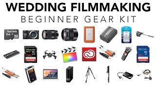 Starter Gear Kit for Wedding Filmmakers