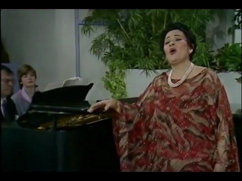 Victoria De Los Angeles.TV. Sings El Paño Murciano,and TV Interview In England.1984.