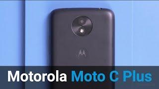 Motorola Moto C Plus review (NL)