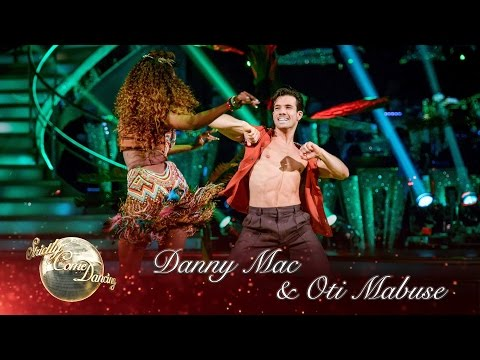 Danny Mac & Oti Mabuse Samba to 'Magalenha'  Sergio Mendes  Strictly Come Dancing 2016: Week 10