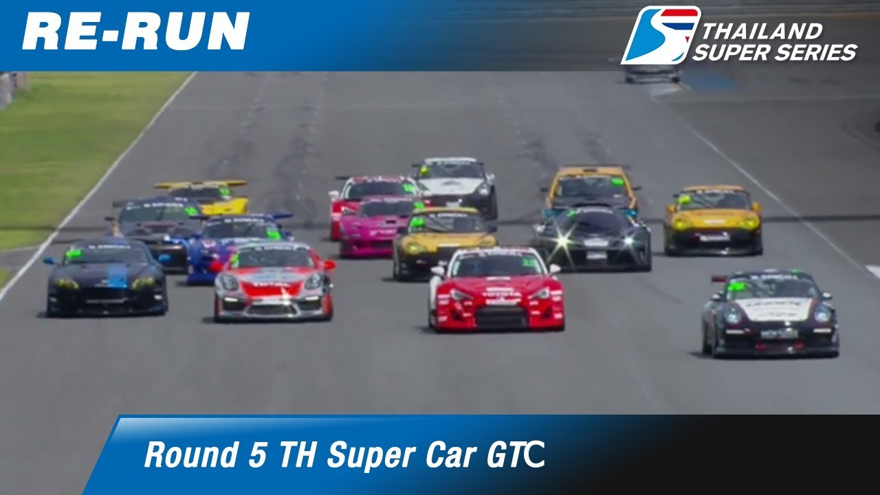 Thailand Super Car GTC : Round 5 @Chang International Circuit