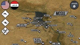 9 мая 2017. Военная обстановка в Ираке. Финальная стадия разгрома ИГИЛ в Мосуле. Русский перевод.