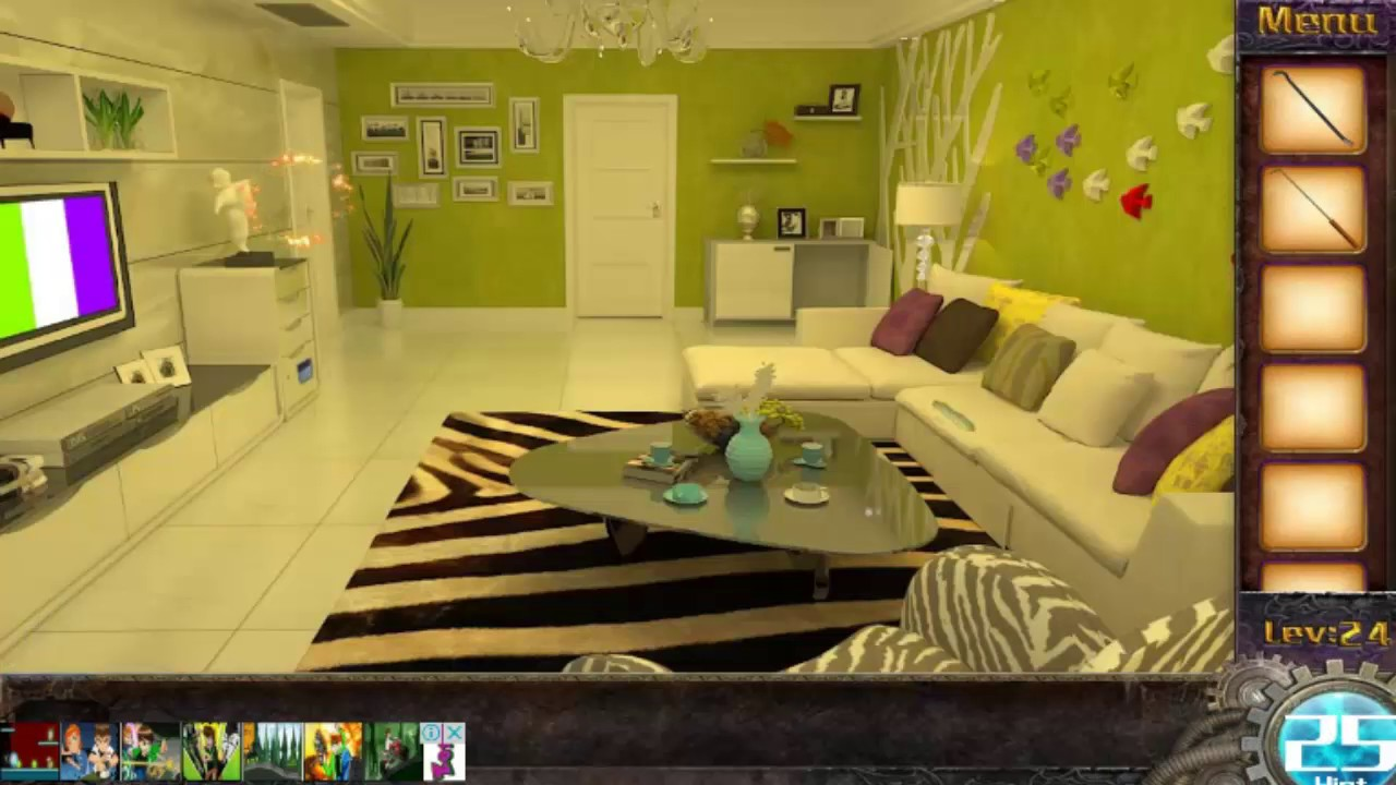 Can You Escape The 100 Rooms 1 Level 24 Walkthrough Youtube