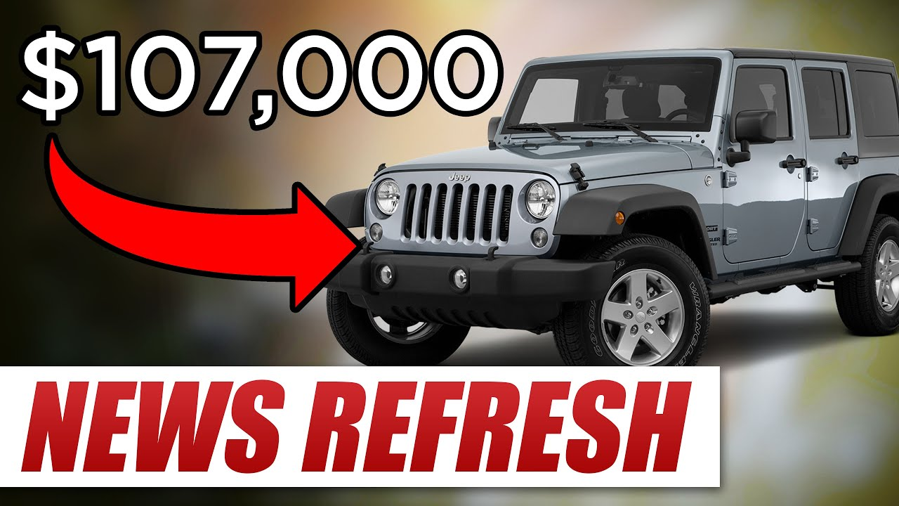 why does a jeep wrangler cost $107,000 in india? - youtube