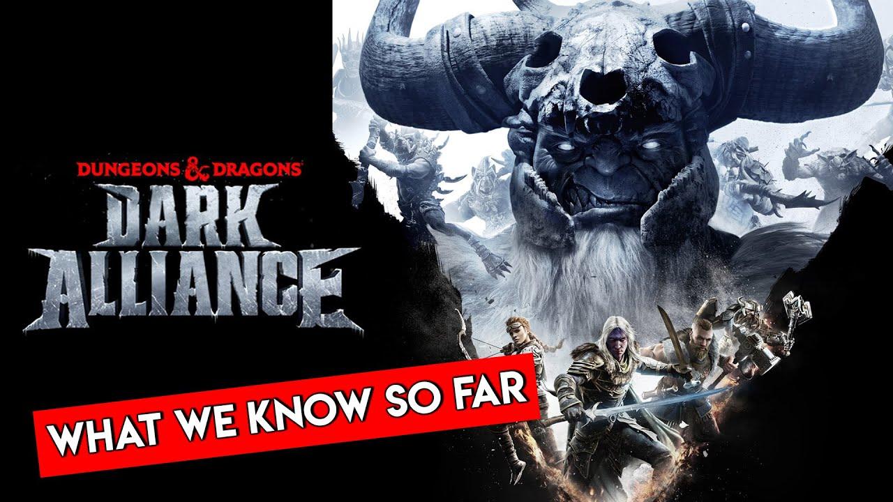 Dark Alliance New D D Action Rpg Of 2020 Youtube