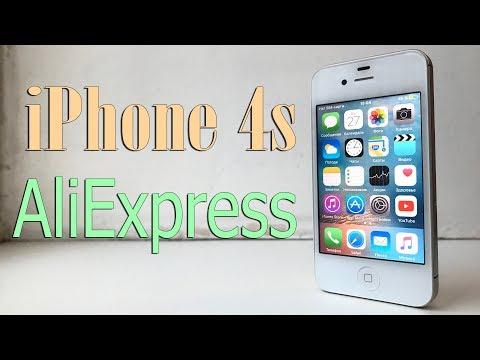 видео: ВОССТАНОВЛЕННЫЙ iphone 4s 16gb С aliexpress ЗА 4500Р!