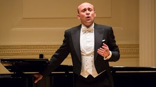 """Una furtiva lagrima"" da standing ovation, Aldo Caputo alla Carnegie Hall di New York"