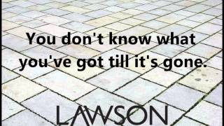 Die For You by Lawson Lyric Video and Download