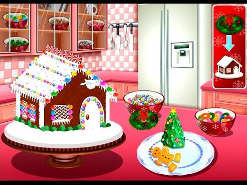 Gingerbread House : Sara's Cooking Class - Fun Cooking Games