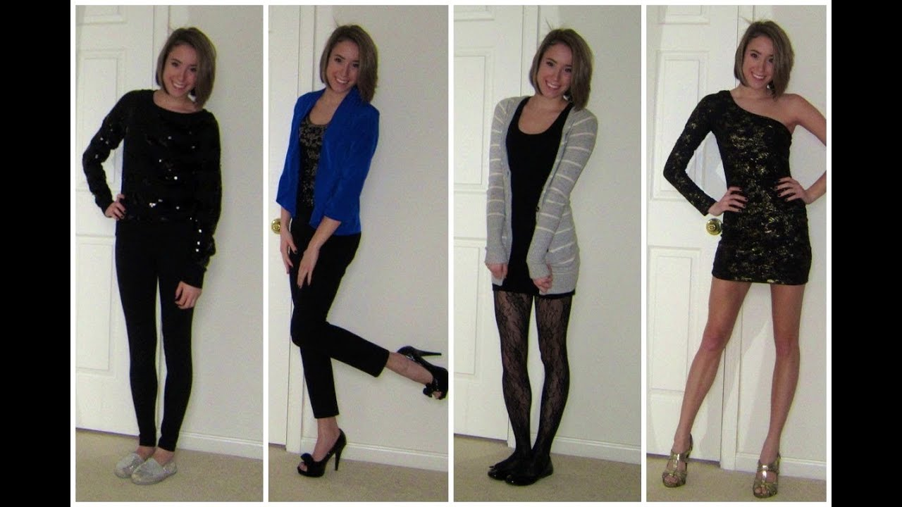 New Years Eve Outfits ♥ Casual, Edgy, Sophisticated U0026 Glamorous!   YouTube