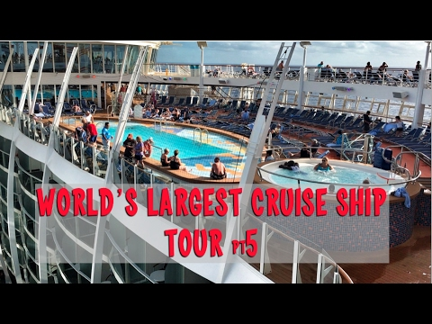 Royal Caribbean Harmony of the Seas Tour Part 5: Pool and Activities Deck