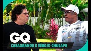 Casagrande e Sérgio Chulapa: papo de camisa 9
