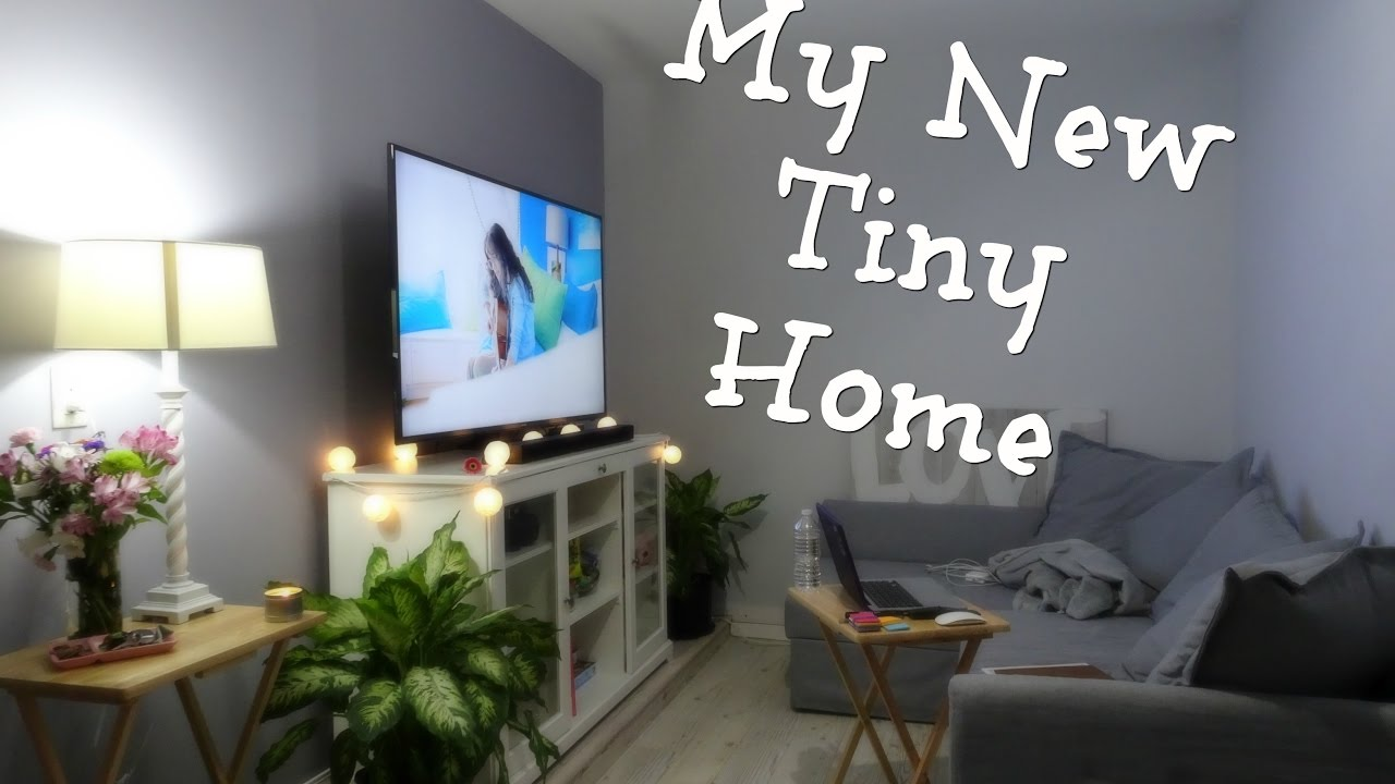amazing garage living room | Tour of My Tiny Room - Garage renovated into a living area ...