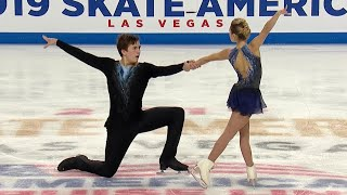 Короткая программа. Пары. Skate America. Гран-при по фигурному катанию 2019/20