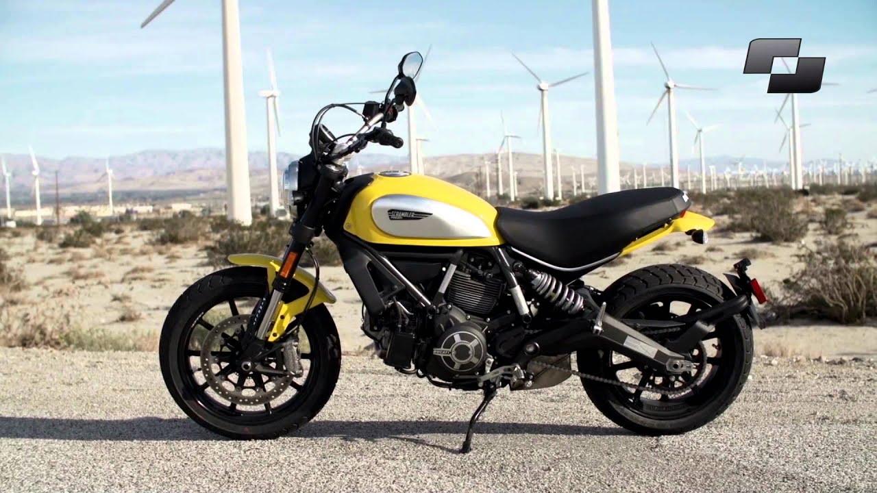 Prueba Ducat... Ducati Scrambler Youtube